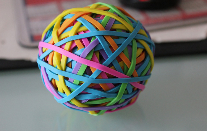 Rubber band balls sex